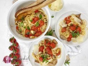 Ticinesi Spaghetti und Tessin Ausflug