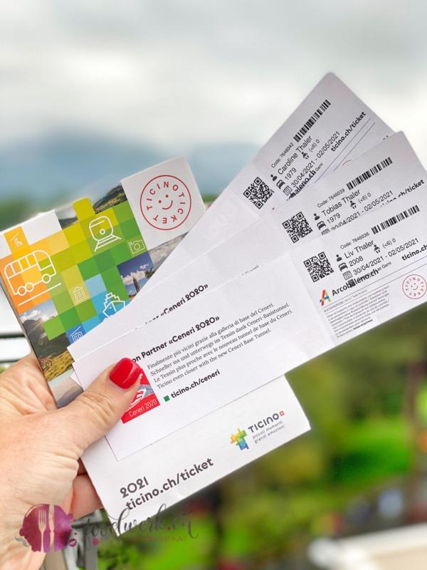 Ticino Ticket bei jedem Aufenthalt im Hotel im Tessin