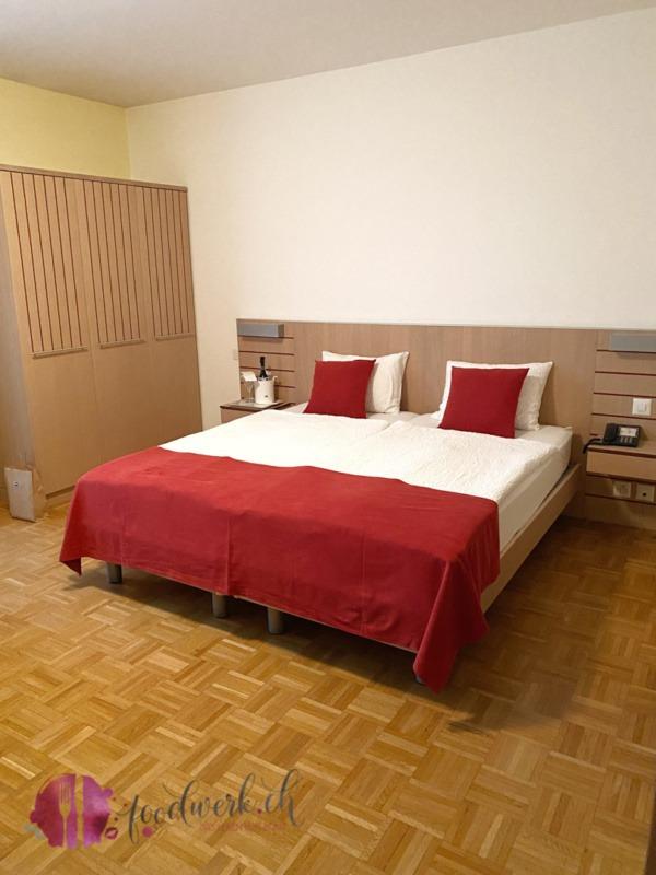 Zimmer im Hotel Geranio au lac