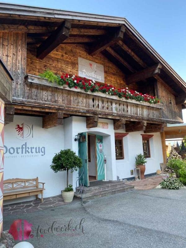 Dorfkrug Restaurant von aussen