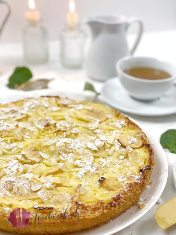Lenzburger Landfrauen Apfelkuchen mit Mandeln
