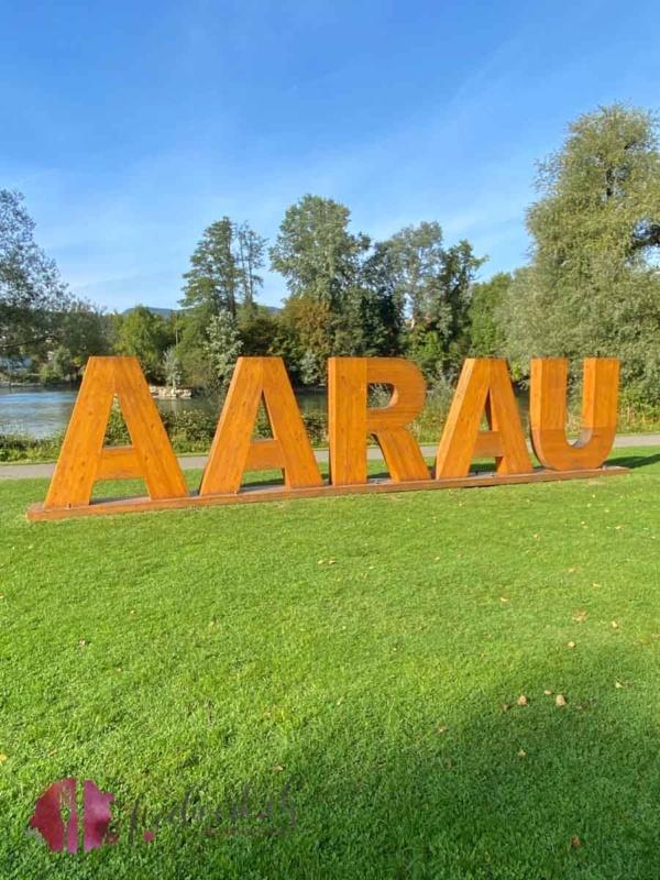 Aarau Logo in Aargau