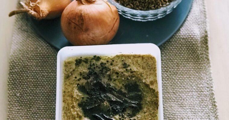 Agasi Hasi Chutney / Flax Seeds Chutney