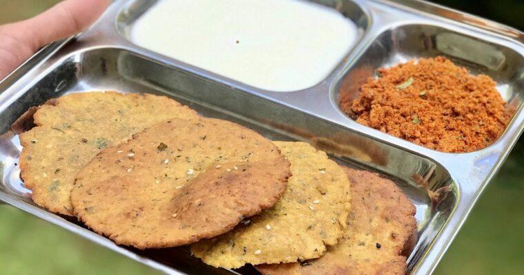 Jolada Vadi / Jowar Poori
