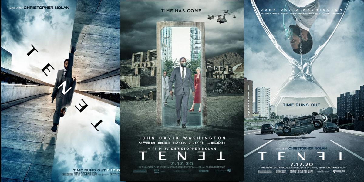 Tenet movie posters