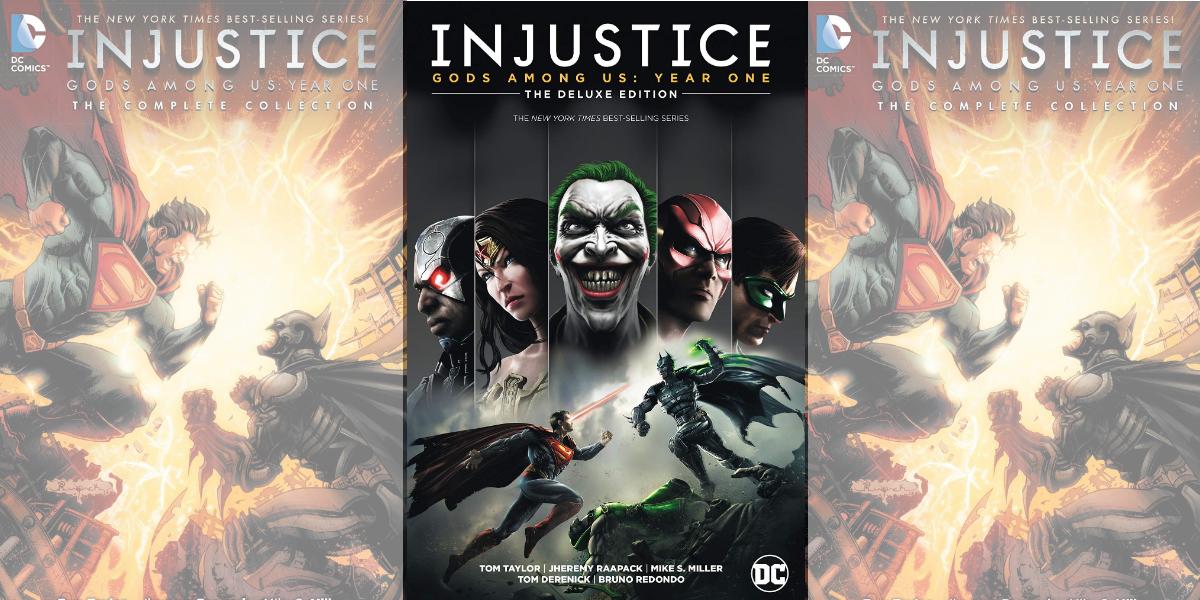 Injustice Gods Among Us year 1