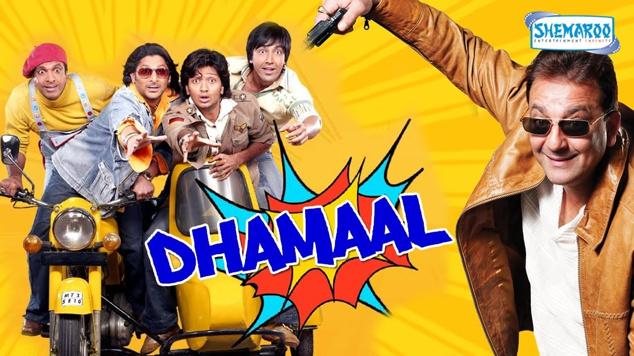 Dhamaal (2007) Bollywood Movie Poster
