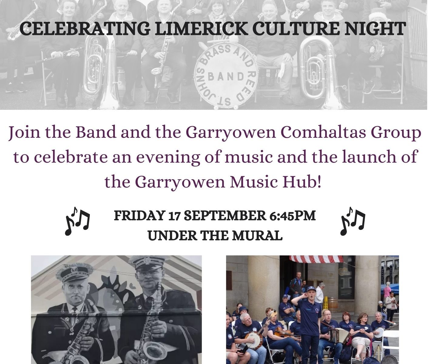 St John's Brass & Reed Band - Culture Night 2021