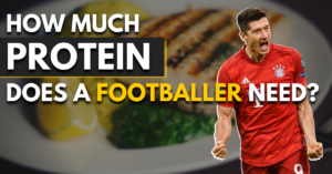 how much protein does a footballer need?