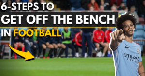 6 steps to get off the bench in football