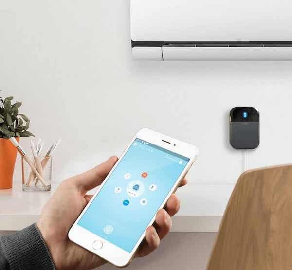Cómo controlar el aire acondicionado con el móvil o por voz
