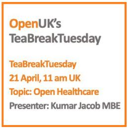 Open UK's Tea Break Tuesday