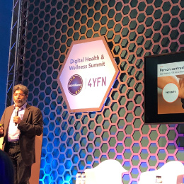 Mindwave CEO Kumar talking about our human-centred approach when developing and designing new products