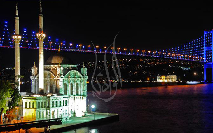 الجسور المعلقة في تركيا اسطنبول
