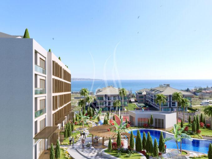 مشروع الوادي 80 شقق للبيع تركيا
