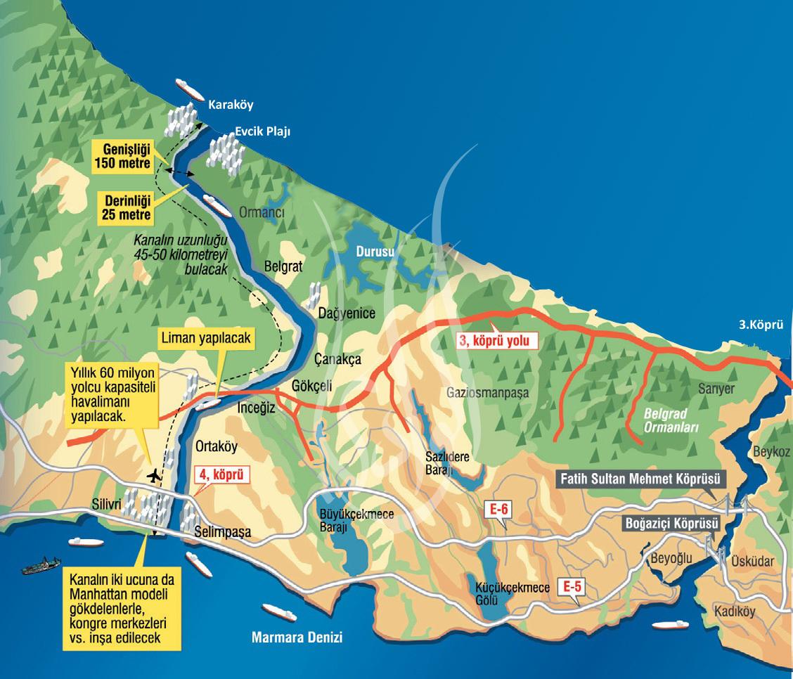 قناة إسطنبول المشروع الأضخم في تركيا