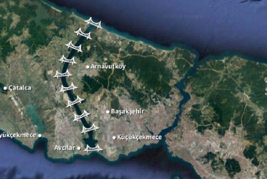 - تركيا قناة اسطنبول