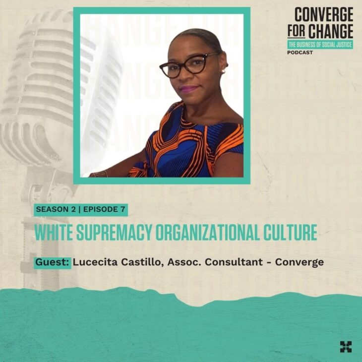 Episode 7: White Supremacy Organizational Culture Pt. 1