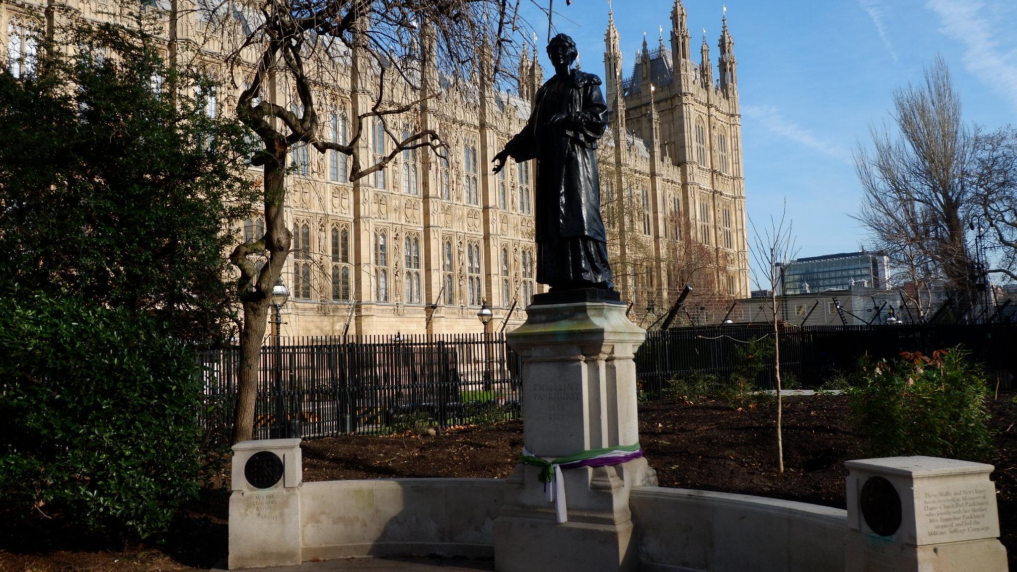 walking tours of london womens history walking tours of london womens history herstory tour guide emmeline pankhurst suffragette house of parliament westminster