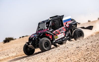 SOUTH RACING CAN-AM TEAM'S VOROBEYEV AND AL-ZUBAIR CLAIM STRONG FINISHES IN QATAR CROSS-COUNTRY RALLY