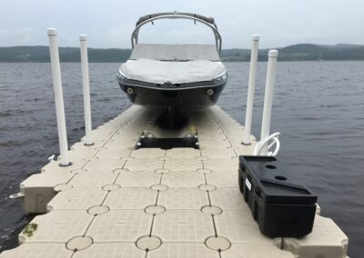 Drive on docks for boats of 3000lbs + (100)
