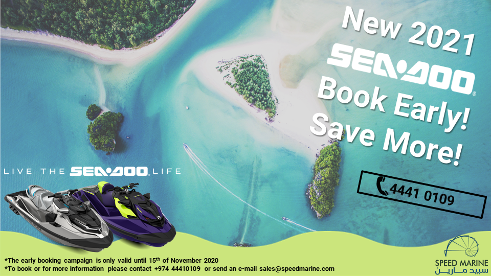 NEW 2021 SEA DOO BOOK EARLY