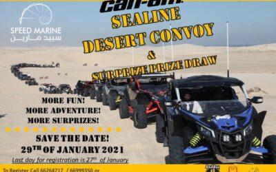 Can-Am Sealine Desert Convoy