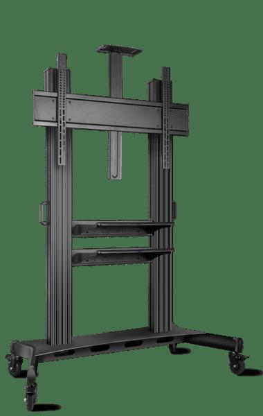 ONKRON Heavyduty Mobile TV Stand TV mount TS2811-blk