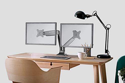 ONKRON dual monitor desk mount G200-BLK