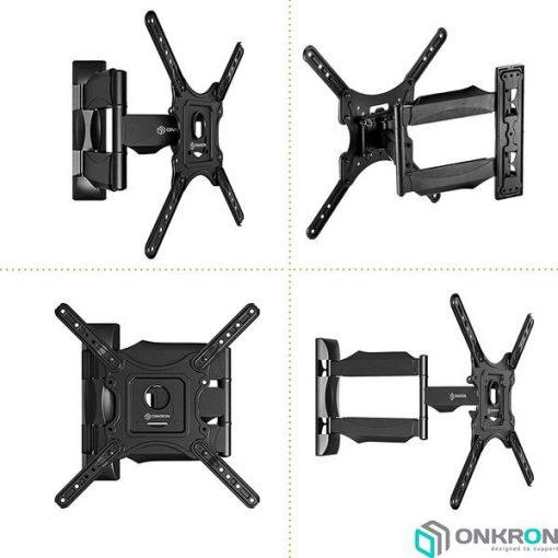 ONKRON-M4-BLK-wall-TV-mount