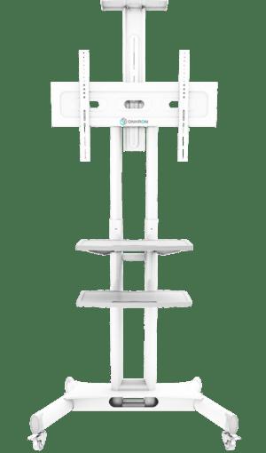 Onkron mobile tv cart ts1552-wht
