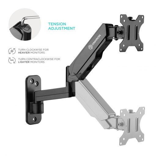 "ONKRON TV Monitor Wall Mount Bracket for 13"" – 32 Inch G150"