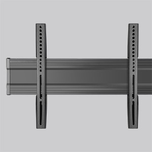 Double TV Strong Aluminum Frame with Universal VESA Mount