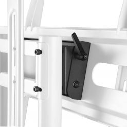 Tilting Adapter Panel for Mobile TV Stand Rolling TV Carts up to 10 Degrees ATL1881 Black