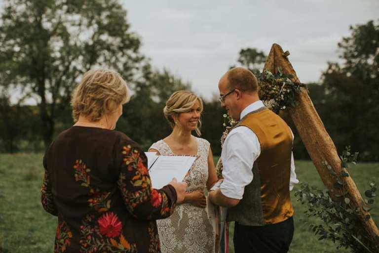 vow renewals with Dinah Liversidge