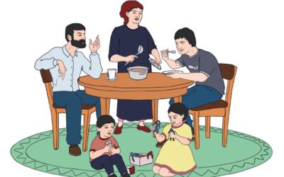 Иллюстрированное методическое пособие для практиков: Роль семьи и женщин в профилактике насильственного экстремизма на Северном Кавказ