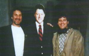 Howie & Bill Clinton