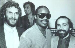 Howie & Stevie Wonder