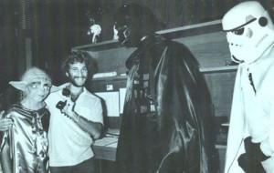 Howie & Darth Vader