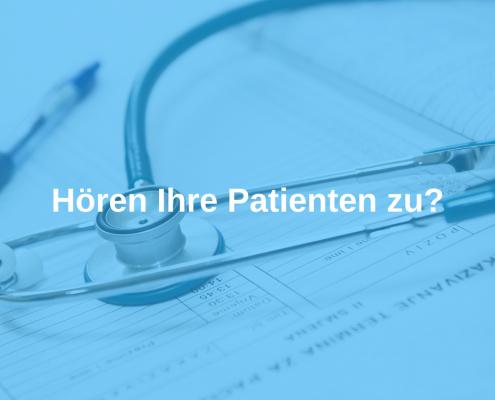 Patientengespräche
