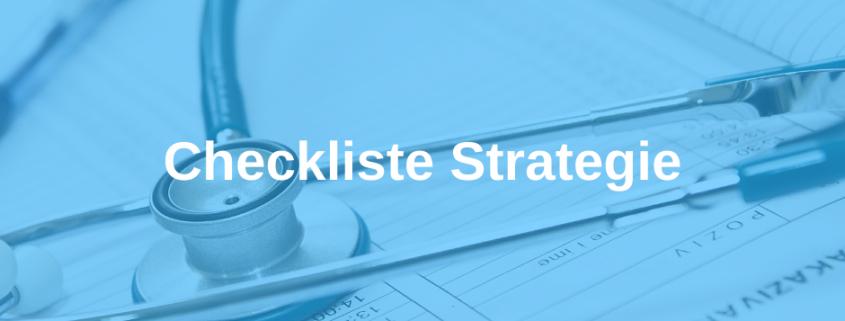 Checkliste Strategie