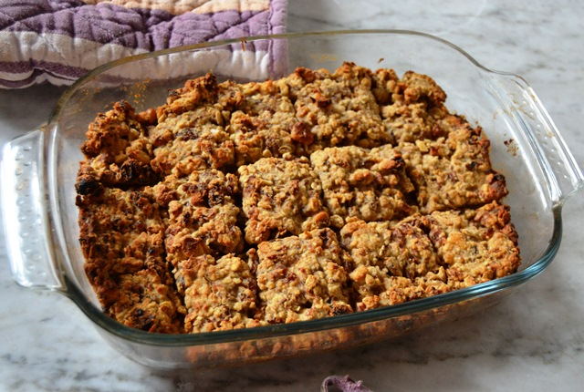 Nuts for Raisins: Energy Bar Recipe