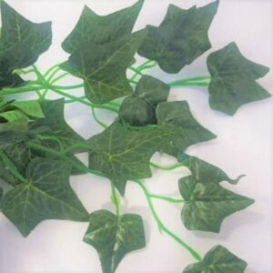 Artificial Ivy Garland 12 in a pack extra long Deep Green