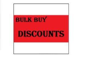 BULK BUY DISCOUNT