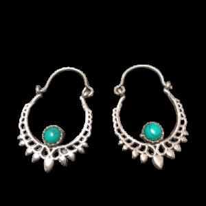 Bijoux Grossiste de boucles d'oreilles ethniques en laiton