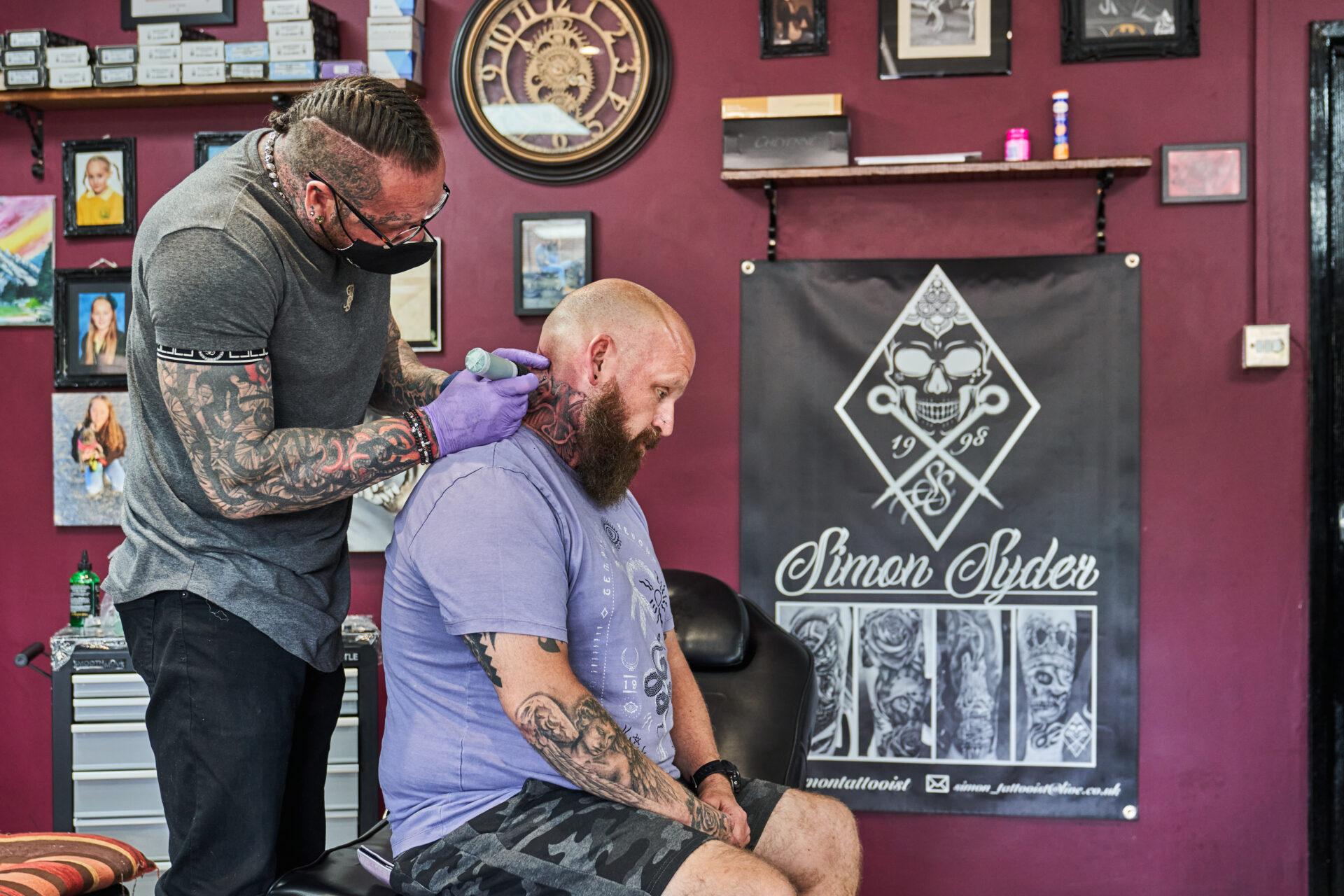 Simon Syder. Norwich Tattooist