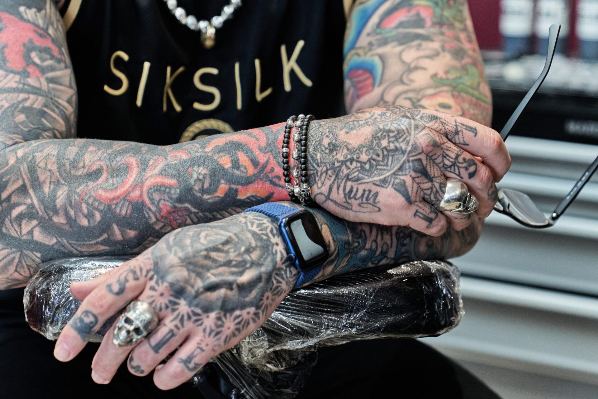 Simon Syder Norwich Tattoo Artist