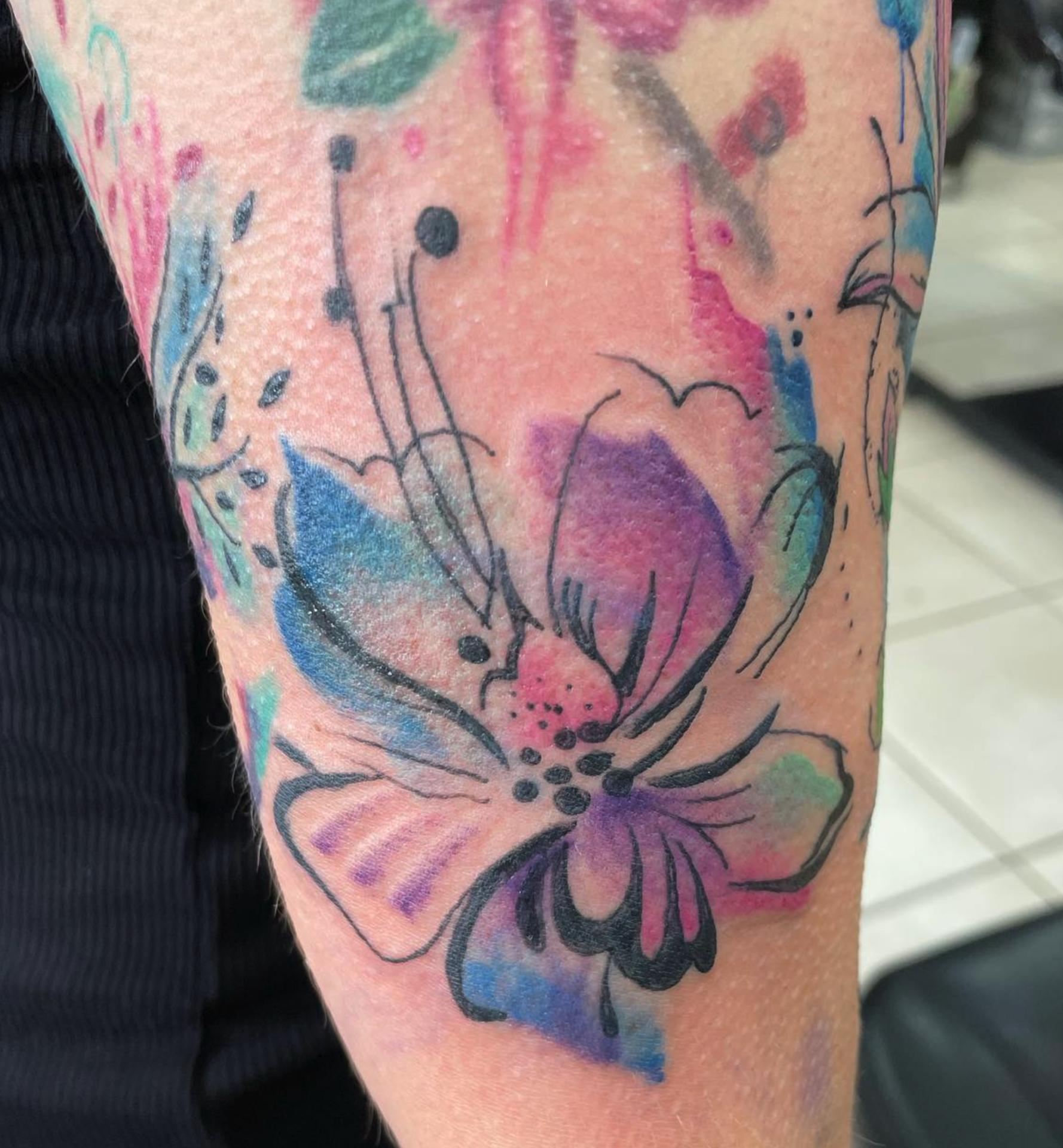 Steven Gigli Tattooist at Black Dagger Tattoo Norwich