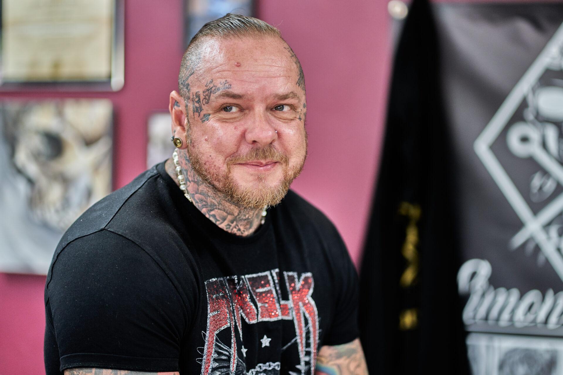 Simon Syder Norwich tattooist