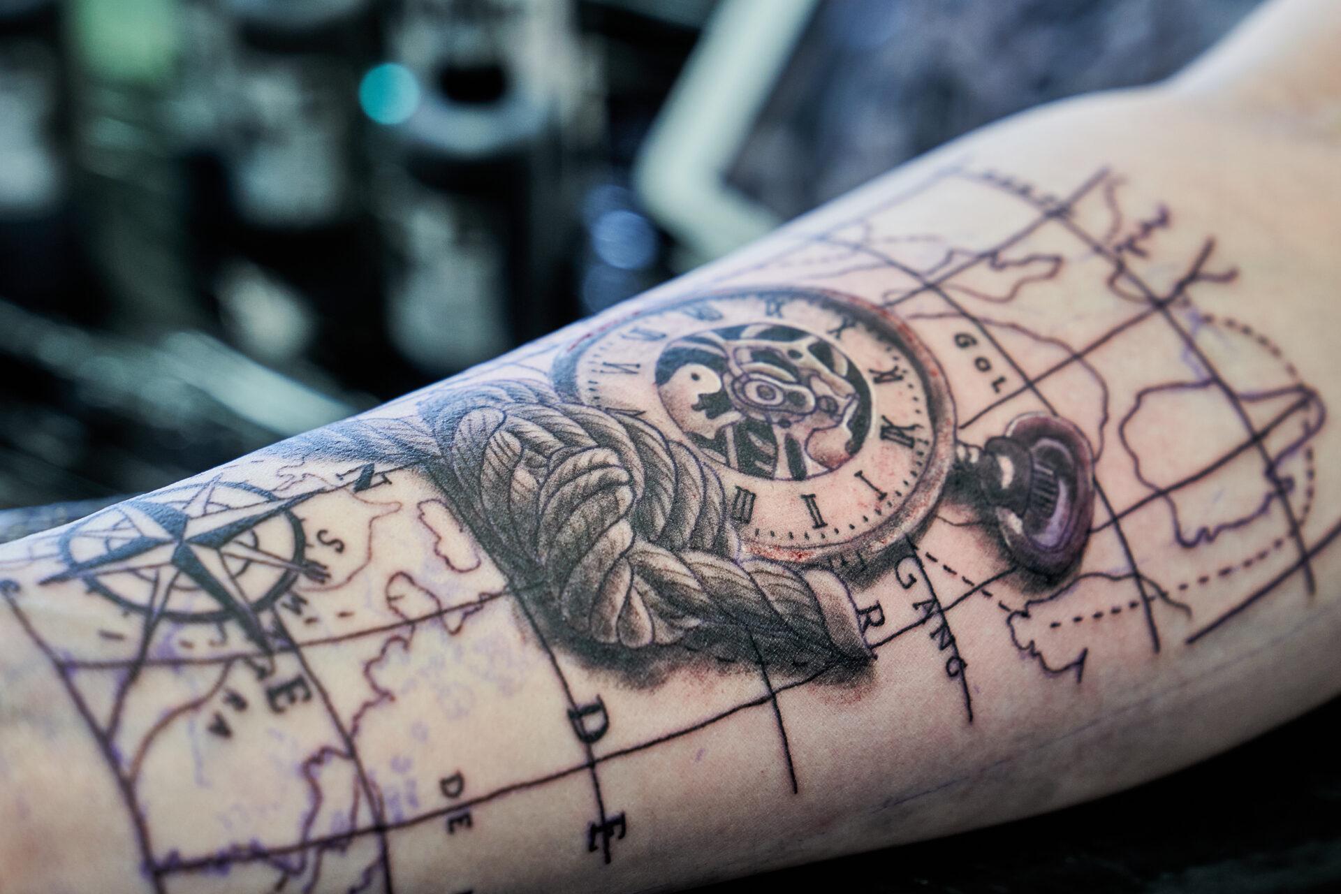 Steven Gigli Tattooist at Black Dagger Tattoo Norwich 1